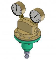 Reguladores de Pressão de Gás Hospitalar - Valmig